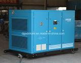 El petróleo rotatorio del tornillo engañó el compresor de aire controlado invertido del Lp (KC37L-5/INV)