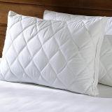 Bianco imbottito di standard del cuscino di base del rinforzo giù e della piuma/formato della regina