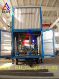 Port Containerized весить черни и кладя в мешки блок