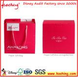 Koohing modificó el rectángulo y el bolso de regalo para requisitos particulares del papel de imprenta de la insignia