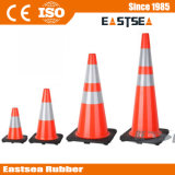 着色された反射PVCトラフィックの円錐形の交通安全の製品(DH-TC-30)