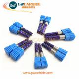 Tisin, Tialn, Altin, Ticn, molinos de extremo nanos azules de Carbie