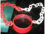 Plástico Cono del tráfico Conector de cadena para Seguridad en las carreteras