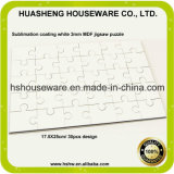 Custom Blank A4 Wood Hardboard Sublimation Jigsaw Puzzle
