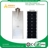 60W太陽電池パネルが付いている情報処理機能をもった屋外LEDの統合された太陽街灯