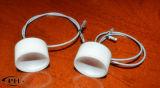 Trasduttori di ceramica piezoelettrici ultrasonici del disco dell'alto passo