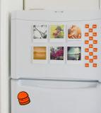 Etiqueta personalizada do ímã do refrigerador das vendas por atacado qualidade barata
