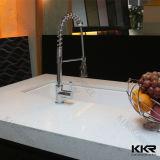 Верхняя часть стенда кухни Kingkonree искусственная каменная твердая поверхностная