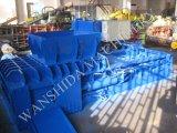 Prensa de acero de Blaing del desecho continuo con control del PLC