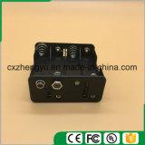 8AA Batteriehalterung mit Schnellverbinder 9V