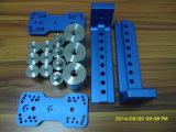 Pièces de usinage anodisées de commande numérique par ordinateur d'aluminium