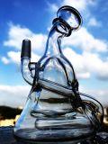 Tubo di acqua di fumo di vetro del mini riciclatore della coppa del Borosilicate di Hbking Enjoylife Handblown