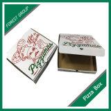 Boîte ondulée à pizza de vente chaude avec Siza fait sur commande
