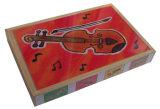 من خشبيّة 4 في 1 لغة في صندوق