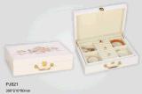 주문 호화스러운 서류상 보석함 세트 또는 팔찌 상자 또는 목걸이 상자