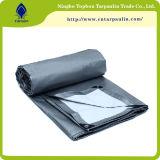 Telhando o encerado da tampa/encerado azul plástico impermeável do PE