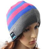 Qualité tricotant le chapeau de Beanie de Bluetooth avec le chapeau de chapeau tricoté par écouteur de musique MP3 d'écouteur