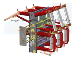 Tipo interruttore dell'Ponticello-Incrocio del caricamento di vuoto con la combinazione del fusibile per la pianta di energia eolica