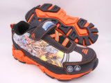 男の子Skylandresのためのライトが付いているスポーツの靴