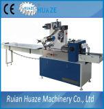 Macchina avvolgitrice per il piatto di carta, macchina per l'imballaggio delle merci di flusso di flusso automatico