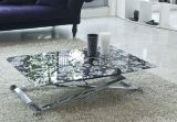 ホーム家具のガラスコーヒーテーブル