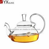Стекло Carafe воды чайника цветка /Blooming бака чая боросиликатного стекла