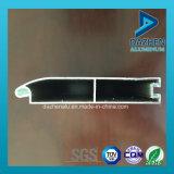 Perfil de aluminio de extrusión para Rolling ventana de la puerta del obturador con el color modificado para requisitos Tamaño