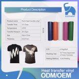 Vinil material da transferência térmica do rebanho para o número do termo do Tshirt