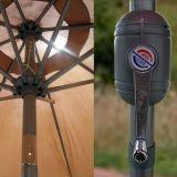 최고 정선한 안뜰 우산 9 ' 알루미늄 안뜰 시장 우산