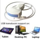 Малый блок развертки ультразвука зонда USB портативная пишущая машинка