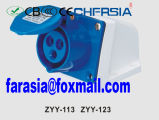 3p 32A Económica industrial de montagem em superfície soquete