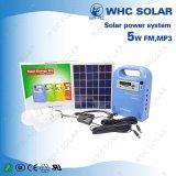 3 Sistema Solar DC Luz LED con Radio y música USB