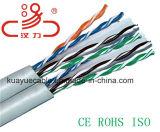 Câble d'ordinateur du câble LAN du câble Cm/Cmr de réseau Utpcat6