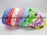 Wristband bello variopinto del silicone di turbinio con Thb-052