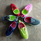 Самые последние хорошие ботинки спорта Comfortale детей Saling (FF1101-4)