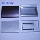 Piezas, disipador de calor, placa frontal, recinto trabajados a máquina CNC etc