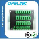 Gpon 원거리 통신 1X32 Lgx 상자 PLC 쪼개는 도구