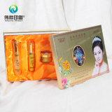 Косметическая коробка подарка упаковки бумаги печатание подмолаживания кожи
