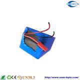 Paquete 24V 10ah de la batería LiFePO4 para el E-Patín de E-Scooter/E-Bike/