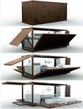 휴대용 현대 Conenvient 이동할 수 있는 Prefabricated 또는 조립식 다방 또는 바
