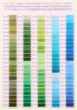 [75د] بوليستر تطريز خيط سنّ اللولب لون بطاقة