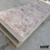 Folha de superfície contínua acrílica da laje grande do material de construção
