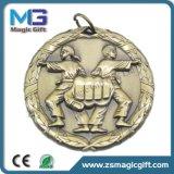 熱い販売の昇進のカスタマイズされた金属のフットボールメダル