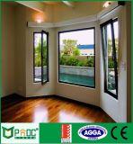 Chinesisches populäres Neigung-Drehung-Fenster mit vertikalem Walzen-Moskito-Bildschirm