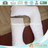 De polyester die vult met verwijdert het U-vormige Hoofdkussen van de Zwangerschap van de Dekking