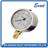 Manometro riempito Manometro-Liquido Misurare-Idraulico normale di Oill di pressione di uso