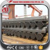 Q195, Q235, tubo de acero de carbón Q345 con la sección hueco redonda