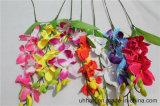 Künstliche Cattleya Großhandelsorchideen für Verkaufs-Ausgangshochzeits-Dekoration