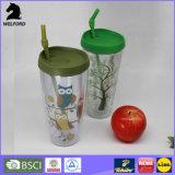 Umweltfreundliche doppel-wandige Plastiktrommel mit Stroh