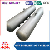 Cilindro de distribuição do gás da alta qualidade para a caldeira